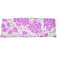 Floral Wallpaper Pink Body Pillow Cases Dakimakura (two Sides)