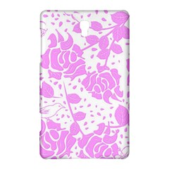Floral Wallpaper Pink Samsung Galaxy Tab S (8.4 ) Hardshell Case