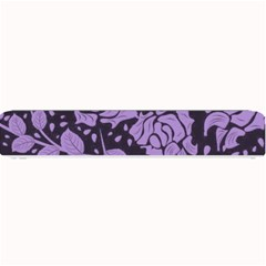 Floral Wallpaper Purple Small Bar Mats