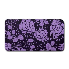 Floral Wallpaper Purple Medium Bar Mats