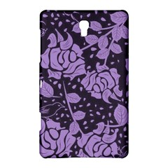 Floral Wallpaper Purple Samsung Galaxy Tab S (8.4 ) Hardshell Case