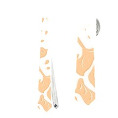 Floral Wallpaper Peach Neckties (One Side)