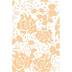 Floral Wallpaper Peach 5.5  x 8.5  Notebooks