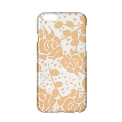 Floral Wallpaper Peach Apple iPhone 6/6S Hardshell Case
