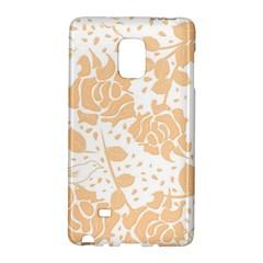 Floral Wallpaper Peach Galaxy Note Edge