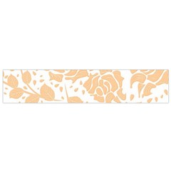Floral Wallpaper Peach Flano Scarf (small)