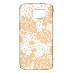 Floral Wallpaper Peach Galaxy S6