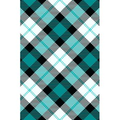 Smart Plaid Teal 5.5  x 8.5  Notebooks