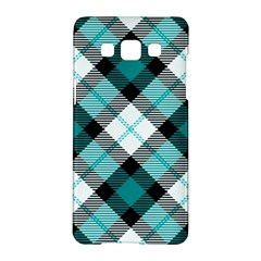 Smart Plaid Teal Samsung Galaxy A5 Hardshell Case