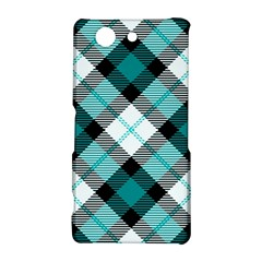 Smart Plaid Teal Sony Xperia Z3 Compact