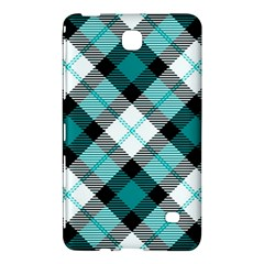 Smart Plaid Teal Samsung Galaxy Tab 4 (7 ) Hardshell Case