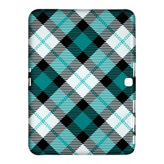Smart Plaid Teal Samsung Galaxy Tab 4 (10.1 ) Hardshell Case