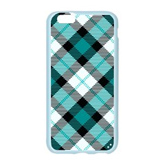 Smart Plaid Teal Apple Seamless iPhone 6 Case (Color)