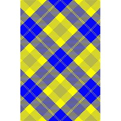 Smart Plaid Blue Yellow 5.5  x 8.5  Notebooks