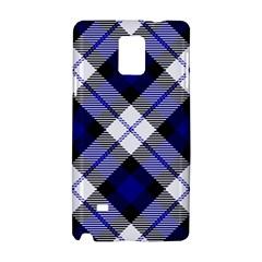 Smart Plaid Blue Samsung Galaxy Note 4 Hardshell Case