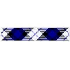 Smart Plaid Blue Flano Scarf (Large)
