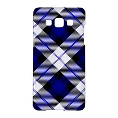 Smart Plaid Blue Samsung Galaxy A5 Hardshell Case