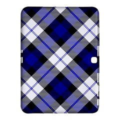 Smart Plaid Blue Samsung Galaxy Tab 4 (10.1 ) Hardshell Case