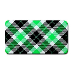 Smart Plaid Green Medium Bar Mats