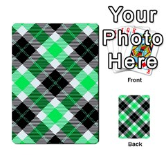 Smart Plaid Green Multi-purpose Cards (Rectangle)