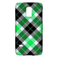 Smart Plaid Green Galaxy S5 Mini