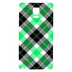 Smart Plaid Green Galaxy Note 4 Back Case