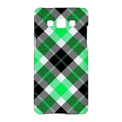 Smart Plaid Green Samsung Galaxy A5 Hardshell Case