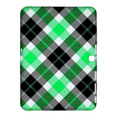 Smart Plaid Green Samsung Galaxy Tab 4 (10.1 ) Hardshell Case