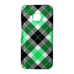 Smart Plaid Green HTC One M9 Hardshell Case