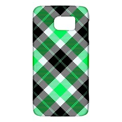 Smart Plaid Green Galaxy S6
