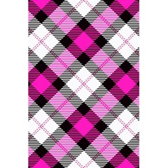 Smart Plaid Hot Pink 5.5  x 8.5  Notebooks