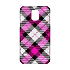 Smart Plaid Hot Pink Samsung Galaxy S5 Hardshell Case