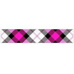 Smart Plaid Hot Pink Flano Scarf (Large)