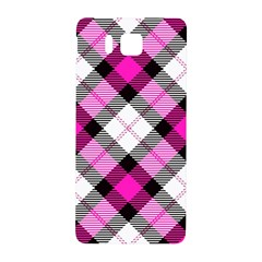 Smart Plaid Hot Pink Samsung Galaxy Alpha Hardshell Back Case