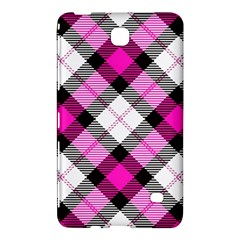 Smart Plaid Hot Pink Samsung Galaxy Tab 4 (8 ) Hardshell Case
