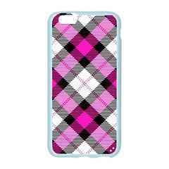 Smart Plaid Hot Pink Apple Seamless iPhone 6 Case (Color)