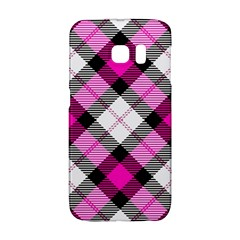 Smart Plaid Hot Pink Galaxy S6 Edge