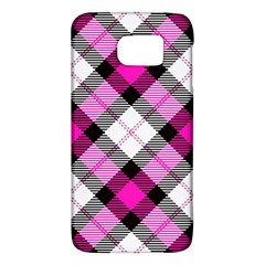 Smart Plaid Hot Pink Galaxy S6