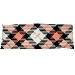 Smart Plaid Peach Body Pillow Cases Dakimakura (Two Sides)