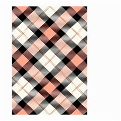 Smart Plaid Peach Small Garden Flag (Two Sides)