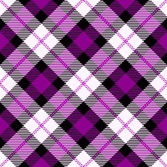 Smart Plaid Purple Magic Photo Cubes