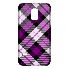 Smart Plaid Purple Galaxy S5 Mini