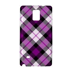 Smart Plaid Purple Samsung Galaxy Note 4 Hardshell Case