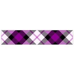 Smart Plaid Purple Flano Scarf (small)