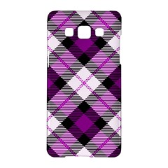 Smart Plaid Purple Samsung Galaxy A5 Hardshell Case