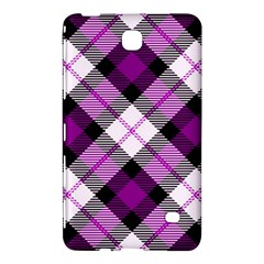 Smart Plaid Purple Samsung Galaxy Tab 4 (7 ) Hardshell Case