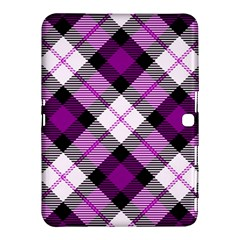 Smart Plaid Purple Samsung Galaxy Tab 4 (10.1 ) Hardshell Case