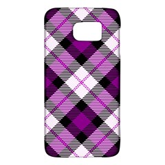 Smart Plaid Purple Galaxy S6
