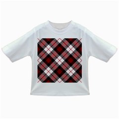 Smart Plaid Red Infant/Toddler T-Shirts