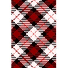 Smart Plaid Red 5.5  x 8.5  Notebooks